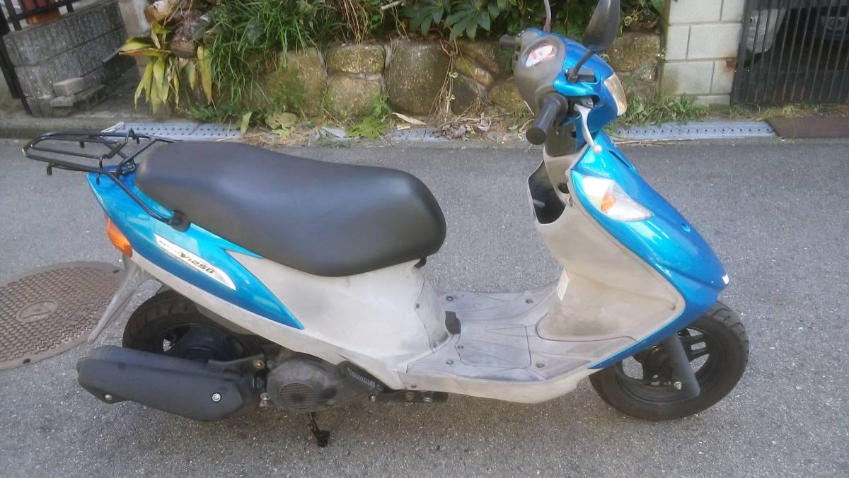「大阪 アドレスv125g 規制前フルパワー バイク屋からの出品 即日配送可能」の画像1