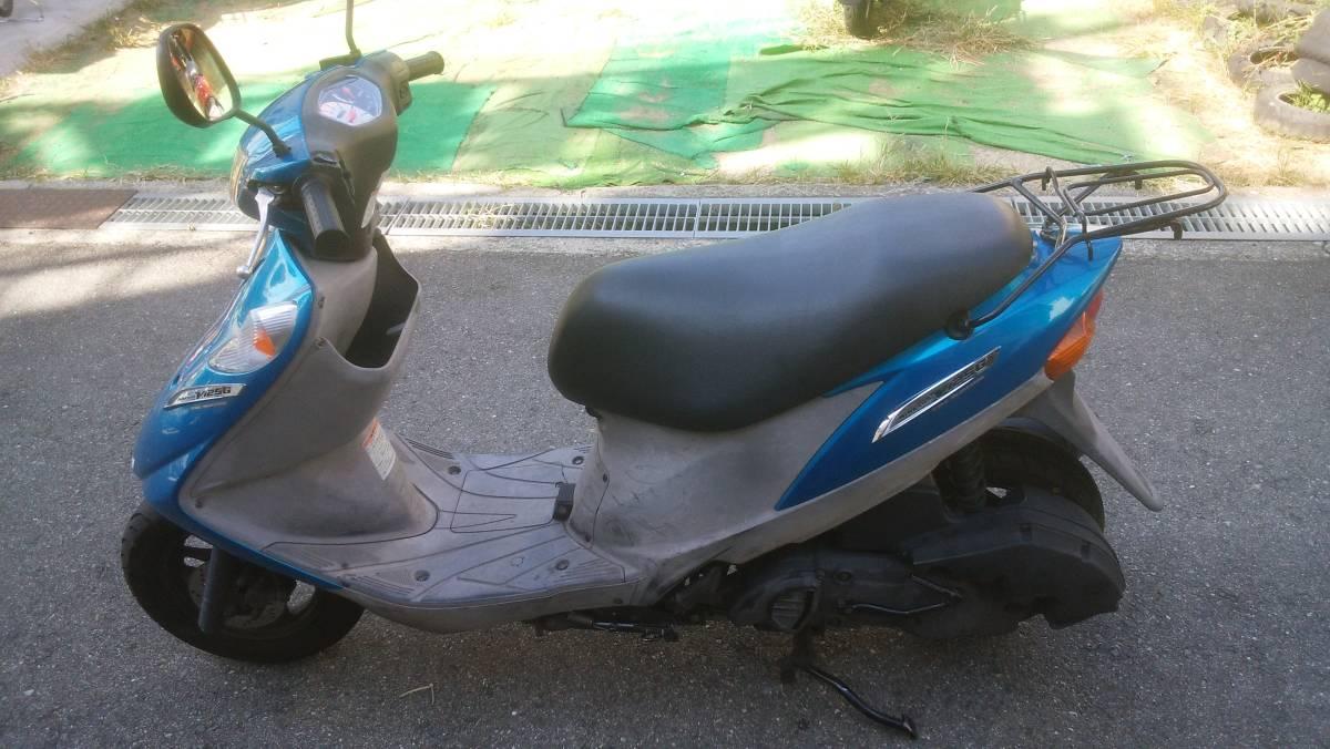 「大阪 アドレスv125g 規制前フルパワー バイク屋からの出品 即日配送可能」の画像2