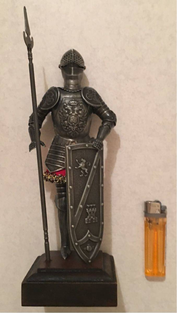 西洋鎧の騎士 西洋騎士 甲冑騎士 鎧騎士 騎士フィギュア 鎧フィギュア 鎧スタチュー 甲冑フィギュア 騎士の置物_画像1