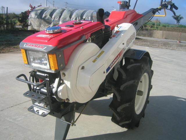 新品未使用長期保管品 ヤンマー耕うん機 YA806D ディーゼルエンジン_画像10