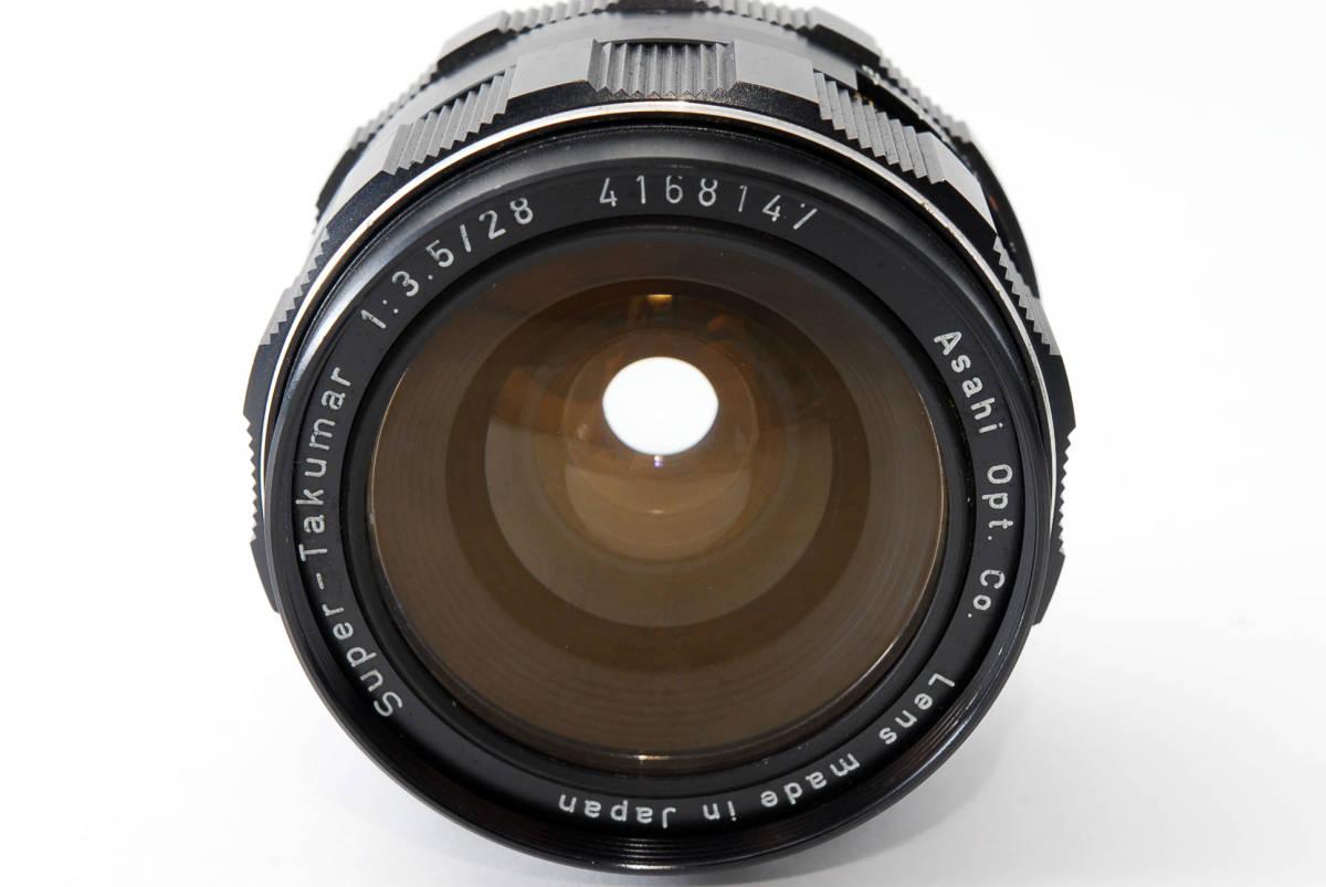 【人気の単焦点レンズ 28mm】 PENTAX ペンタックス  SUPER-TAKUMAR 28mm f3.5 動作快調 カメラ 同梱可能 #2941_画像2