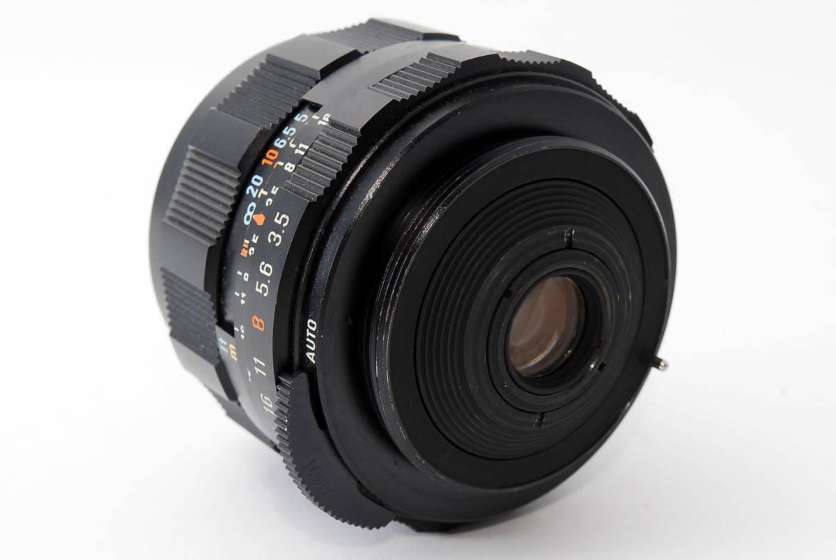 【人気の単焦点レンズ 28mm】 PENTAX ペンタックス  SUPER-TAKUMAR 28mm f3.5 動作快調 カメラ 同梱可能 #2941_画像6