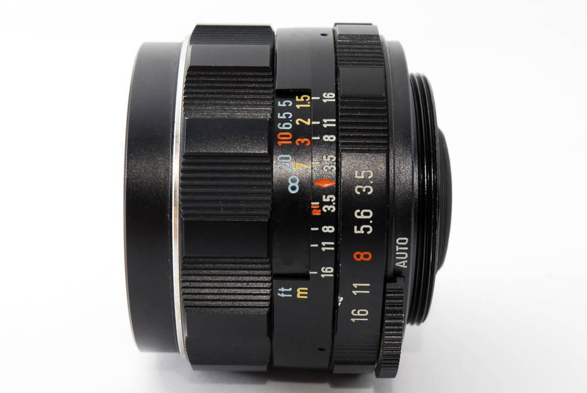 【人気の単焦点レンズ 28mm】 PENTAX ペンタックス  SUPER-TAKUMAR 28mm f3.5 動作快調 カメラ 同梱可能 #2941_画像7