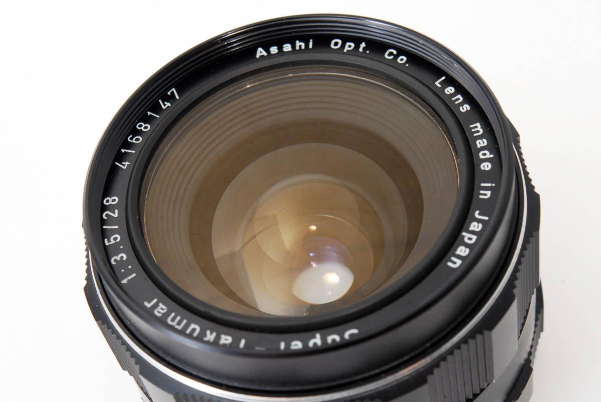 【人気の単焦点レンズ 28mm】 PENTAX ペンタックス  SUPER-TAKUMAR 28mm f3.5 動作快調 カメラ 同梱可能 #2941_画像9