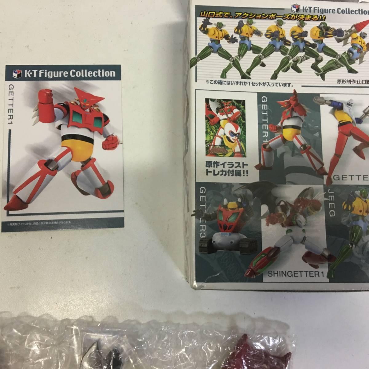 即決 未使用品 タカラ K・Tフィギュアコレクション ダイナミックロボットミュージアム 真ゲッター1 レターパック可能_画像5