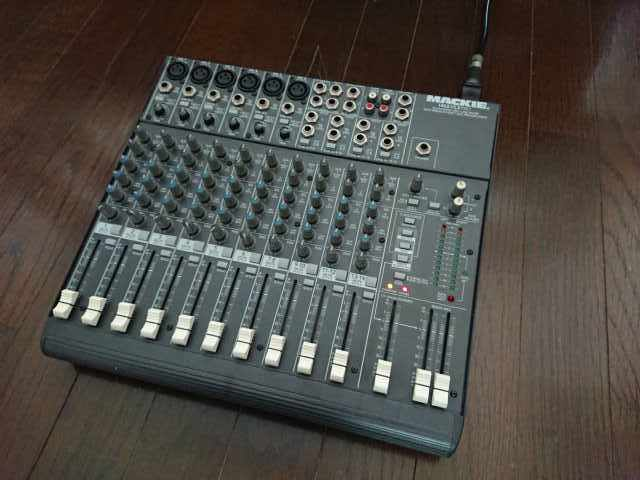 USA製!音が良い!MACKIE 1402-VLZ Pro 14ch アナログミキサー マッキー_画像3