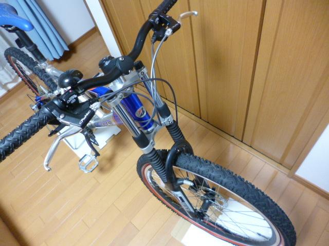 ブリヂストン サイクル スラッガー SD1240 スタンド ダウンヒル マウンテンバイク MTB Wサスペンション ディスクブレーキ_画像3