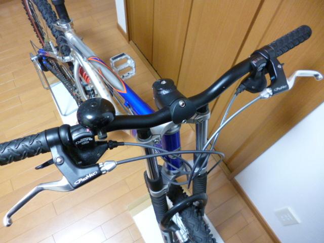 ブリヂストン サイクル スラッガー SD1240 スタンド ダウンヒル マウンテンバイク MTB Wサスペンション ディスクブレーキ_画像5