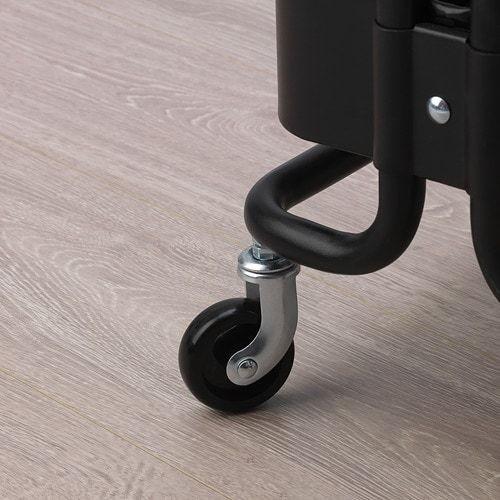 新品★北欧雑貨 IKEAイケア★ロースフルト RASHULT ワゴン30445991 ブラック キッチンワゴン_画像3