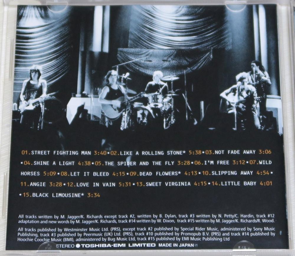 ◇ CD ザ・ローリング・ストーンズ The Rolling Stones STRIPPED 初回限定 日本盤 帯付き ボーナストラック VJCP-18023 新品同様 ◇_画像3
