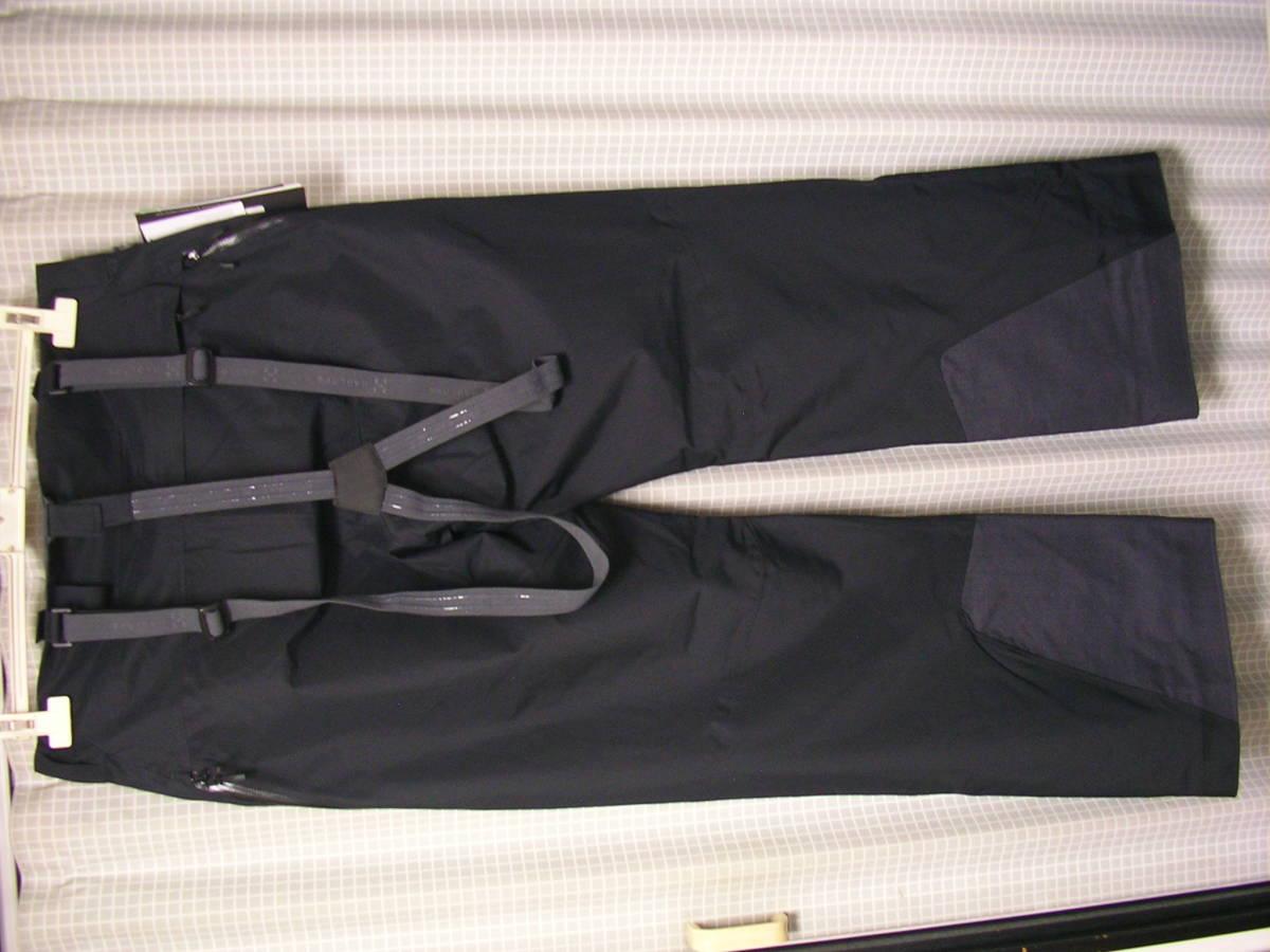 新品!HAGLOFSホグロフス LINE PANT 602981 M 黒 フリーライドスキースノーボードパンツskiバックカントリー_画像4