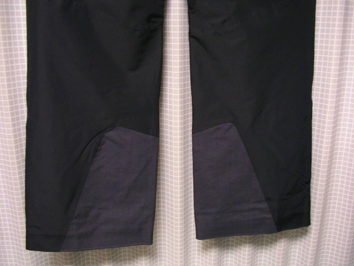 新品!HAGLOFSホグロフス LINE PANT 602981 M 黒 フリーライドスキースノーボードパンツskiバックカントリー_画像6