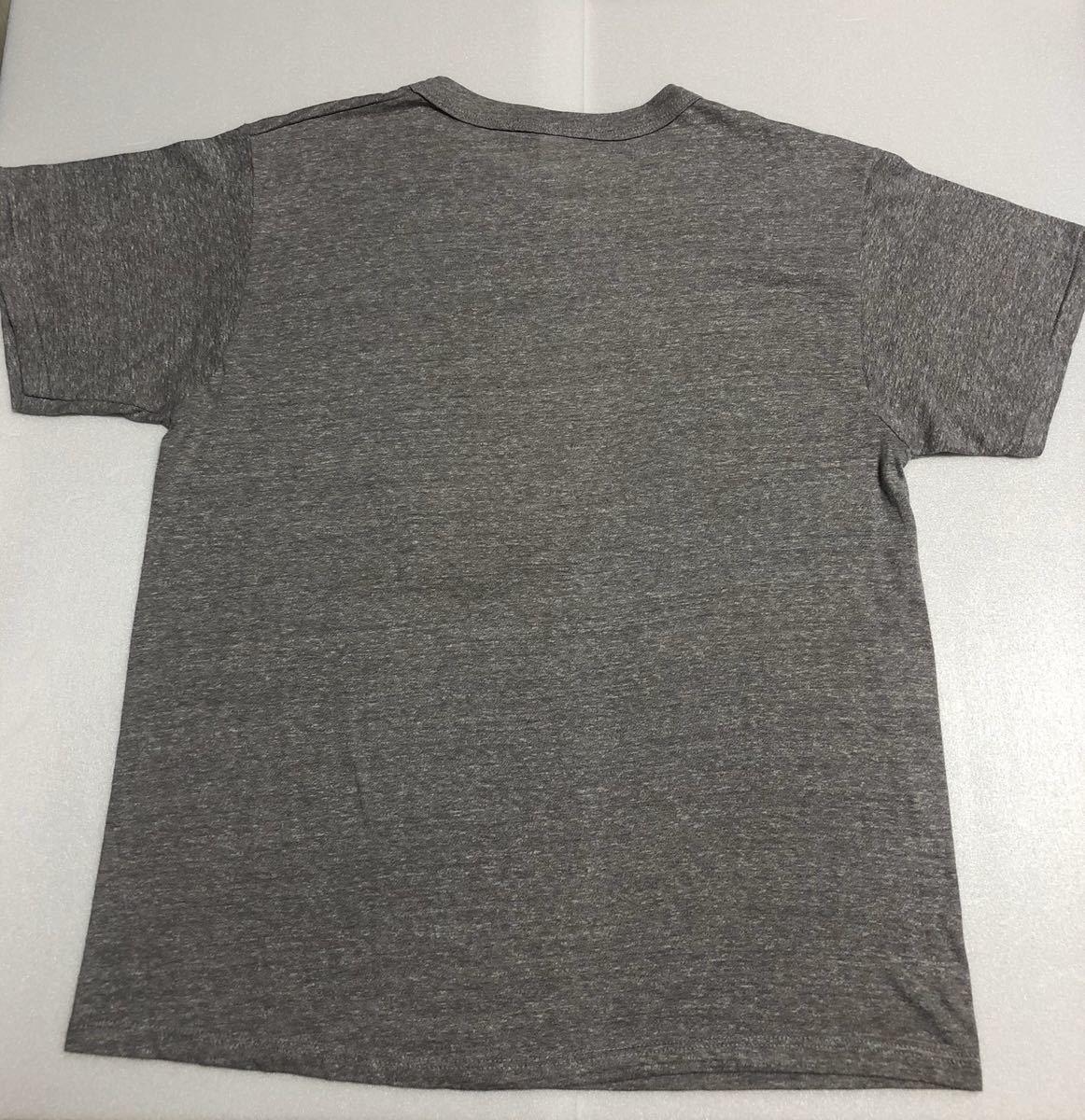 美品! 80s~ USA製 champion チャンピオン ビンテージ tシャツ オフィシャルTシャツ グレー L NFL ニューヨークジャイアンツ 90s トリコタグ_画像2