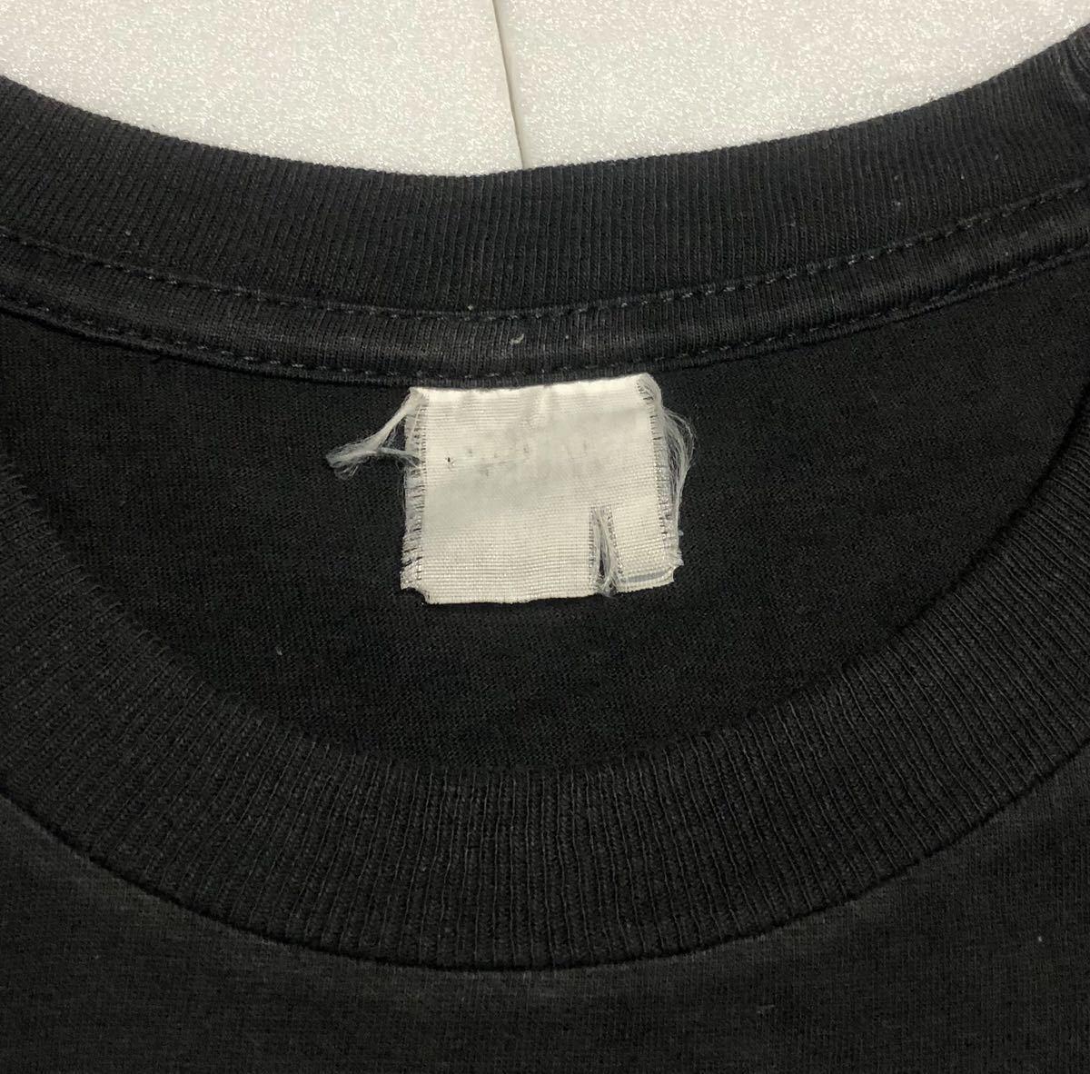 90s 95-96年 ツアー IRON MAIDEN アイアンメイデン ビンテージ Tシャツ 黒 オリジナル メタル ロック バンド tシャツ レア コピーライト_画像5
