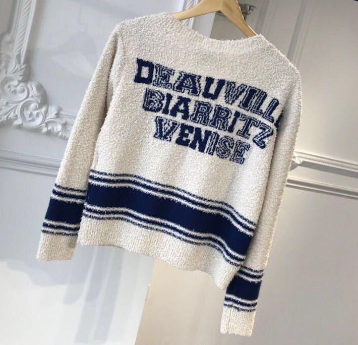 Chanel シャネル 長袖セーター ニット 36/Mサイズ相当 イタリア製_画像2