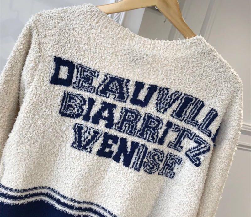 Chanel シャネル 長袖セーター ニット 36/Mサイズ相当 イタリア製_画像5