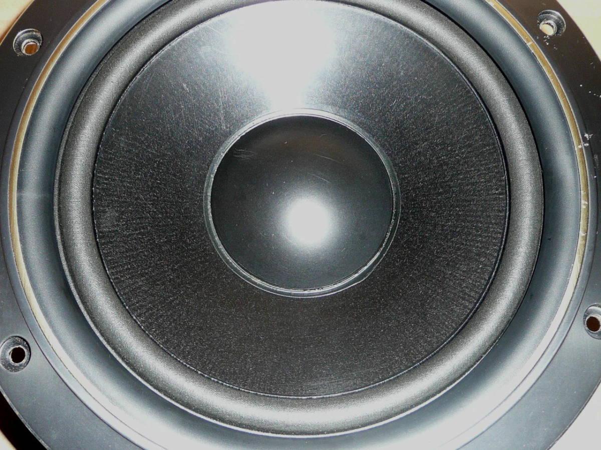 送料込みテクニクス23cmウーファーペア・国産動作品_画像5