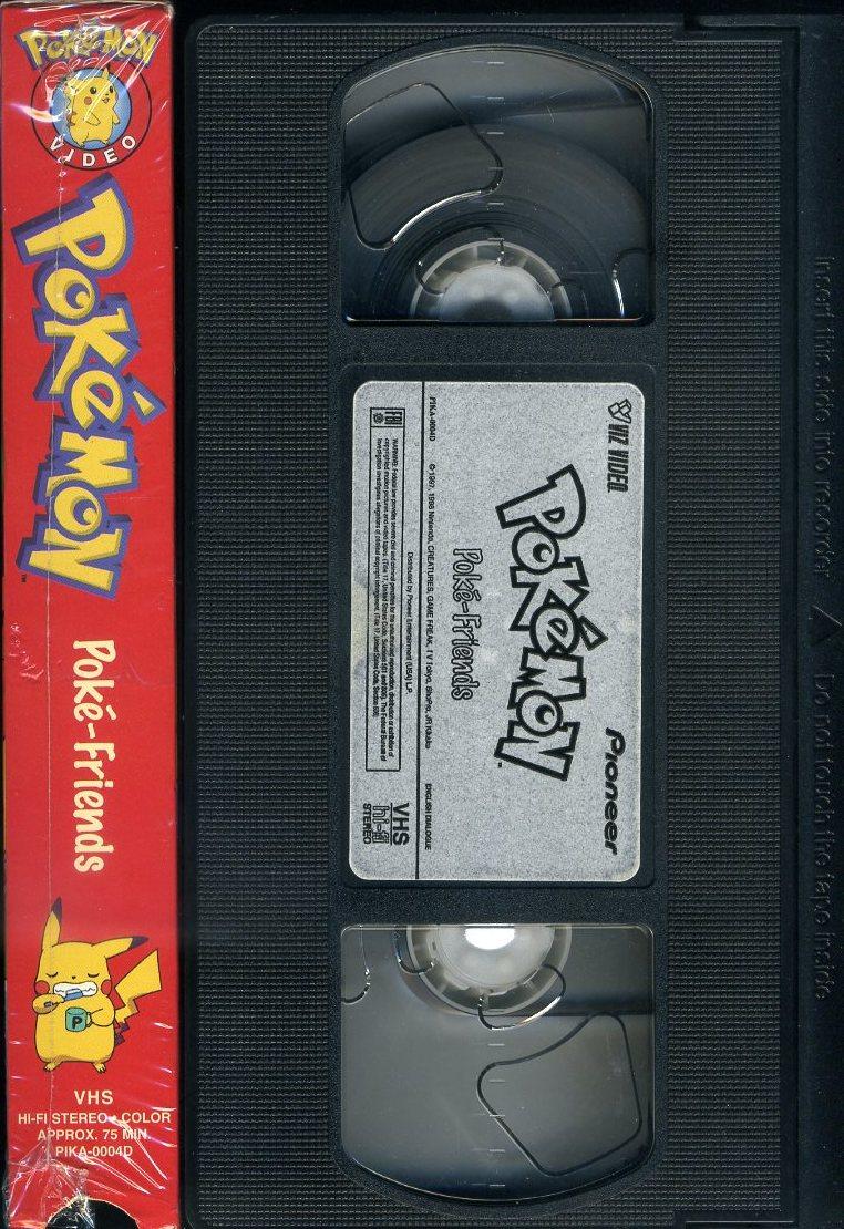 即決〈同梱歓迎〉VHS ポケットモンスター Poke-Friends アニメ ビデオ◎その他多数出品中∞3332_画像3