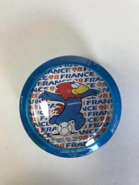 ★ ハイパーヨーヨー ★ France ' 98  FIFAワールドカップ ★ 青 ★_画像3