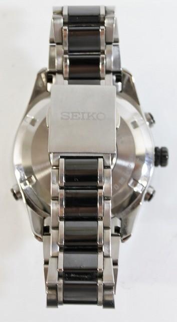 SEIKO/セイコー 腕時計 SBXA017 7X52-0AF0 アストロン 電波 ソーラー GPS チタン セラミック ブライト メンズ 美品 ビジネス 人気_画像7