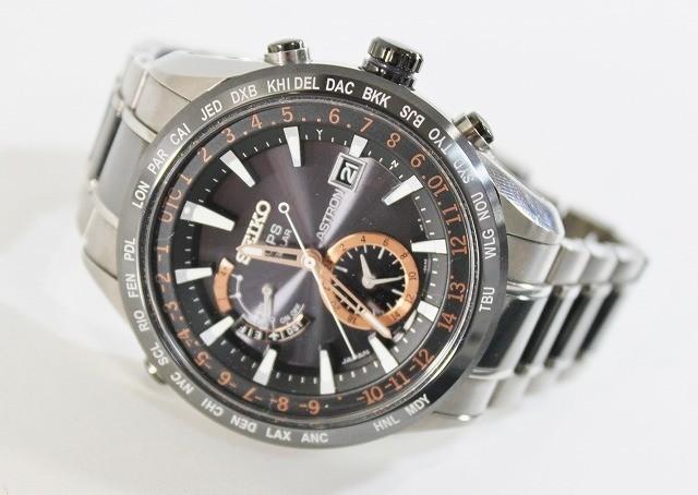 SEIKO/セイコー 腕時計 SBXA017 7X52-0AF0 アストロン 電波 ソーラー GPS チタン セラミック ブライト メンズ 美品 ビジネス 人気_画像6