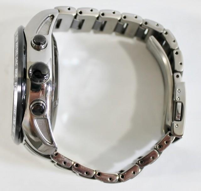 SEIKO/セイコー 腕時計 SBXA017 7X52-0AF0 アストロン 電波 ソーラー GPS チタン セラミック ブライト メンズ 美品 ビジネス 人気_画像4