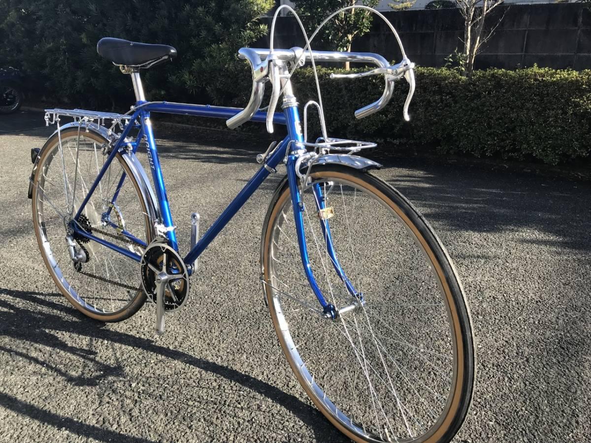 昭和レトロ☆光自転車 ブライト27 奇跡の未使用車 青系 27型外装18段 当時物 HIKARI ビンテージロード_画像1