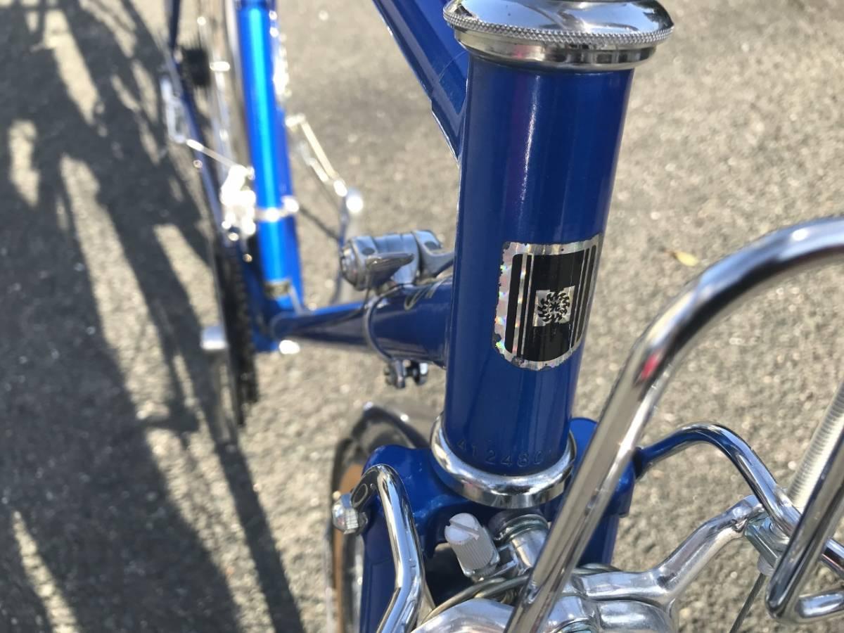 昭和レトロ☆光自転車 ブライト27 奇跡の未使用車 青系 27型外装18段 当時物 HIKARI ビンテージロード_画像7