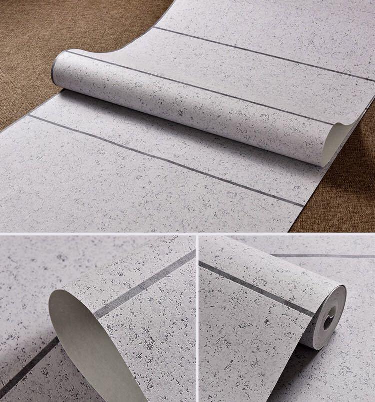 現代のシンプルな3d模造大理石タイル格子壁紙ベッドルーム、リビングルームテレビの背景群がっ不織布壁紙ピンクストライプウォールペーパー_画像7