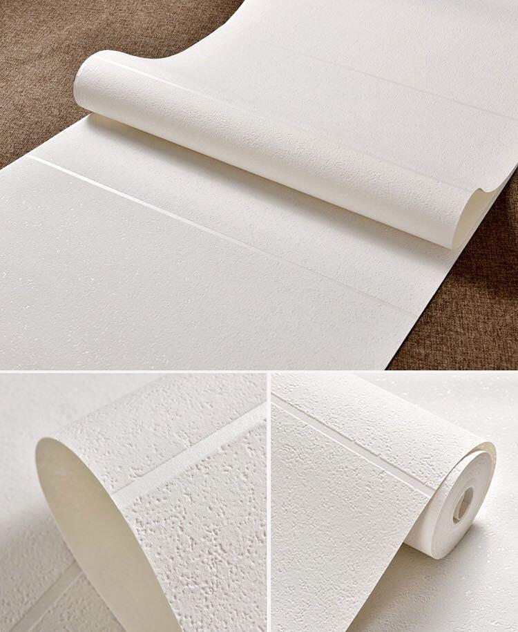 現代のシンプルな3d模造大理石タイル格子壁紙ベッドルーム、リビングルームテレビの背景群がっ不織布壁紙ピンクストライプウォールペーパー_画像9
