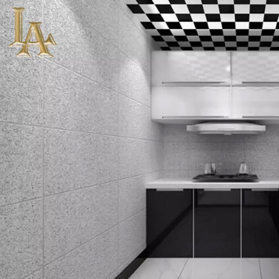 現代のシンプルな3d模造大理石タイル格子壁紙ベッドルーム、リビングルームテレビの背景群がっ不織布壁紙ピンクストライプウォールペーパー_画像1