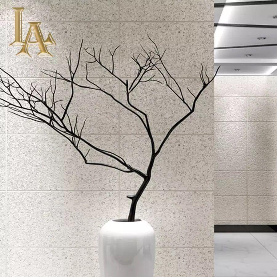現代のシンプルな3d模造大理石タイル格子壁紙ベッドルーム、リビングルームテレビの背景群がっ不織布壁紙ピンクストライプウォールペーパー_画像3
