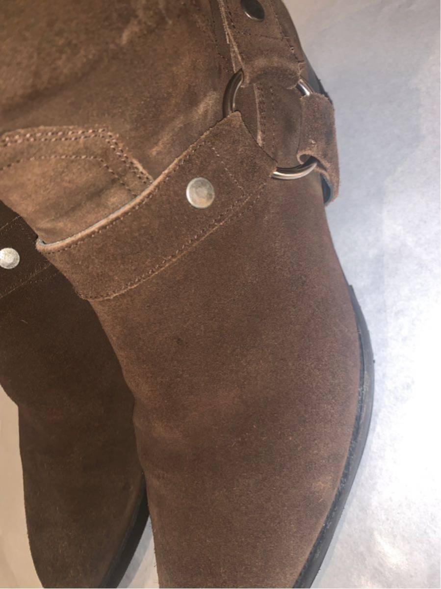 saint laurent paris WYATT ブーツ美品 42 箱付 サンローランパリワイアット_画像2