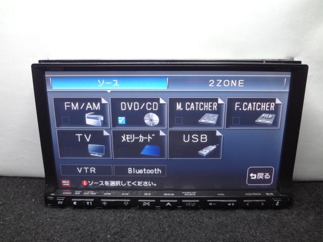 ◎クラリオン ( 2011年地図 ) HDDナビ GCX809 4X4フルセグTV内蔵 DVDビデオ再生 Bluetooth CD4000曲録音 保証付_画像6
