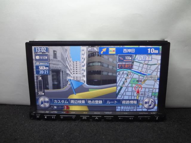 ◎クラリオン ( 2011年地図 ) HDDナビ GCX809 4X4フルセグTV内蔵 DVDビデオ再生 Bluetooth CD4000曲録音 保証付_画像4