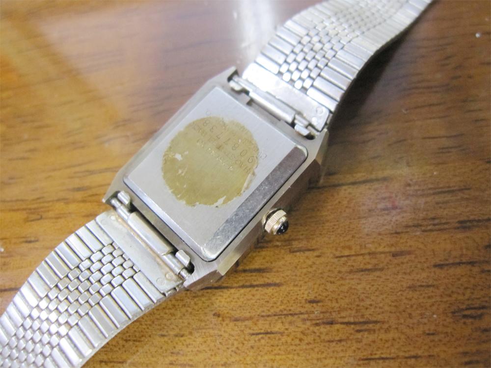 新品ストック品! CITIZEN シチズン EXCEED エクシード 超硬ケース 4-751744 アナログ3針 クォーツ 腕時計 純正ベルト付 日本製 *NW037_画像7