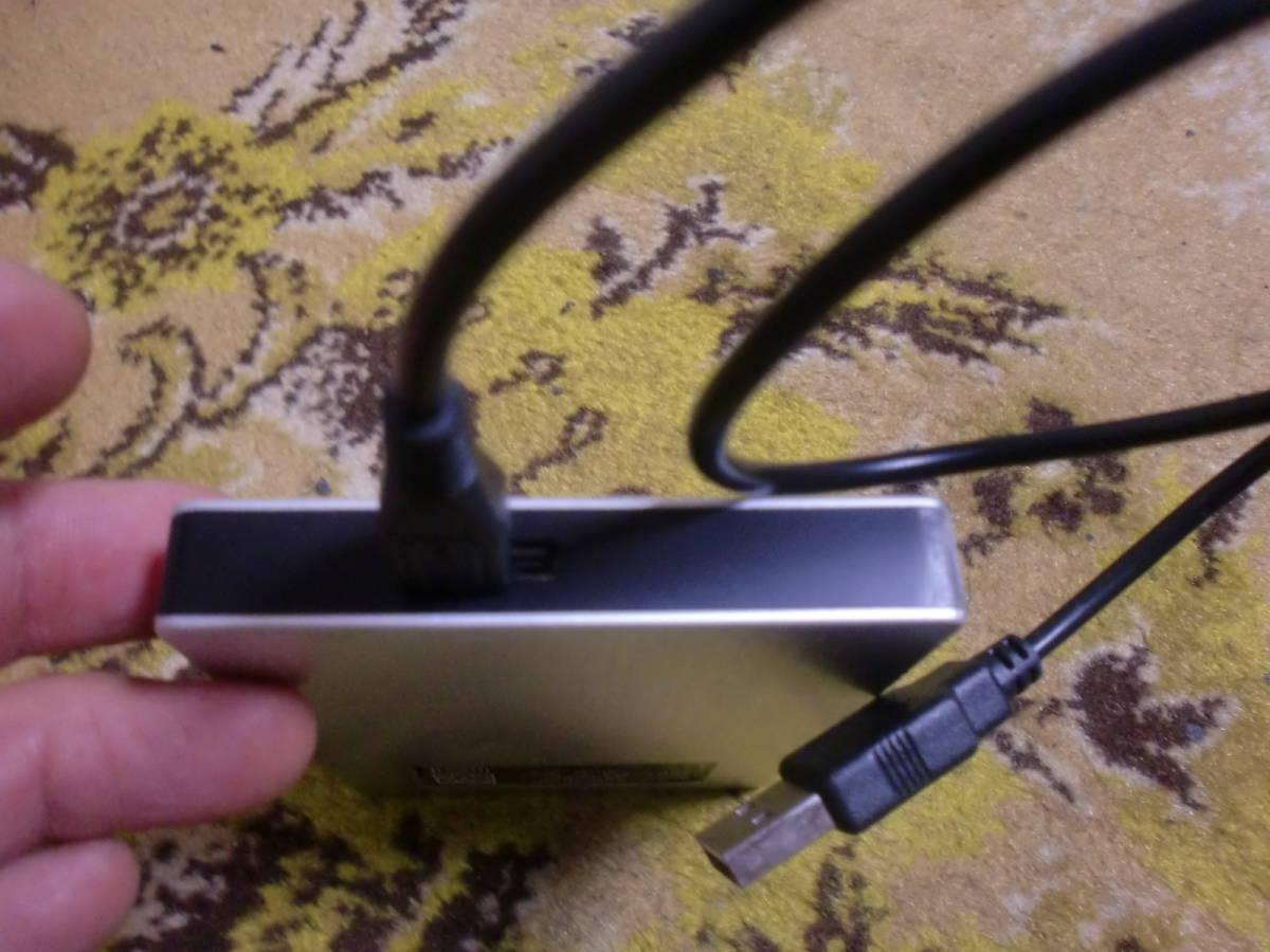 ●TOSHIBA 外付けHDD 1TB (HD-SB10TS 外付けハードディスク) ジャンク●_画像3
