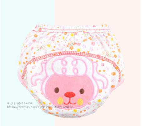 【B0112】1円~ 赤ちゃん トレーニングパンツ ベビーおむつ 再利用可能 おむつ 洗えるおむつ 綿_6