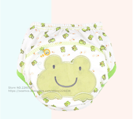 【B0112】1円~ 赤ちゃん トレーニングパンツ ベビーおむつ 再利用可能 おむつ 洗えるおむつ 綿_5