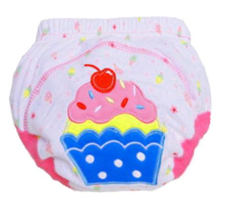 【B0112】1円~ 赤ちゃん トレーニングパンツ ベビーおむつ 再利用可能 おむつ 洗えるおむつ 綿_2