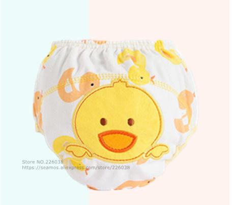 【B0112】1円~ 赤ちゃん トレーニングパンツ ベビーおむつ 再利用可能 おむつ 洗えるおむつ 綿_9
