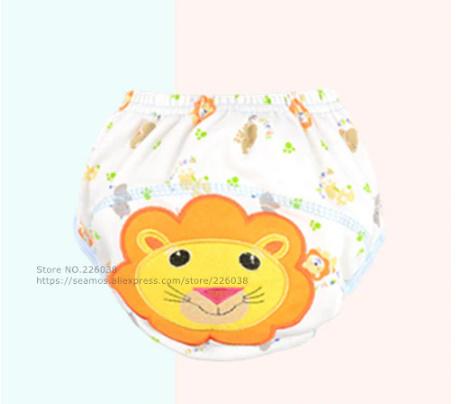 【B0112】1円~ 赤ちゃん トレーニングパンツ ベビーおむつ 再利用可能 おむつ 洗えるおむつ 綿_10