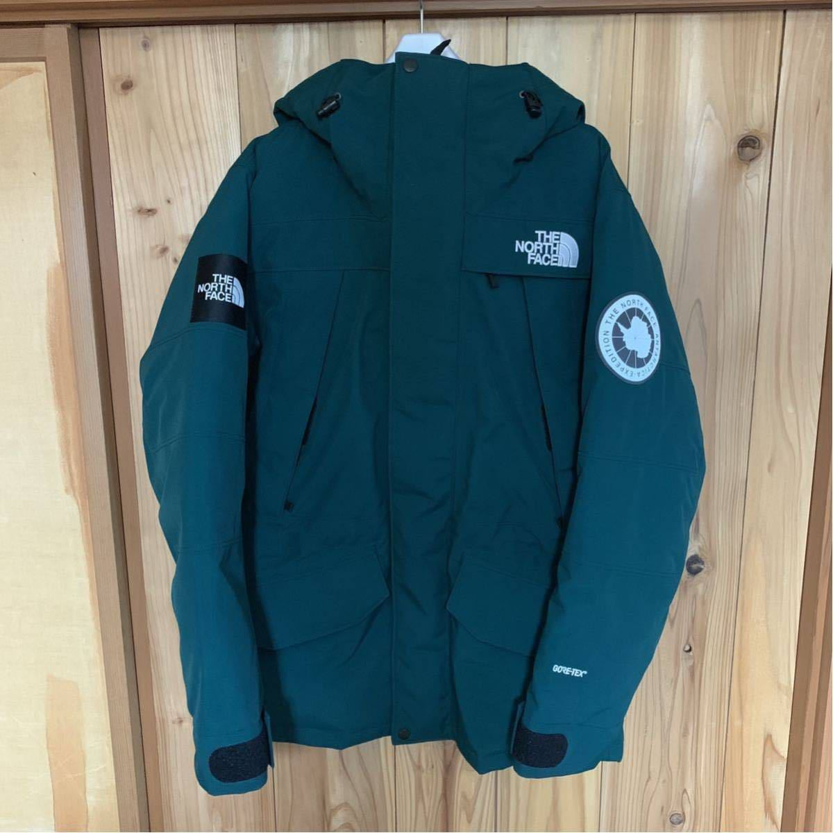 The North Face Antarctica PARKA L BD ボタニカルガーデングリーン GORE-TEX THE NORTH FACE