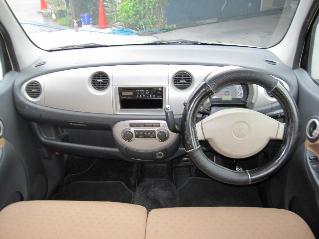 「完全売切り 車検付 軽自動車 ダイハツ ムーヴラテ グレードX L550S 」の画像3