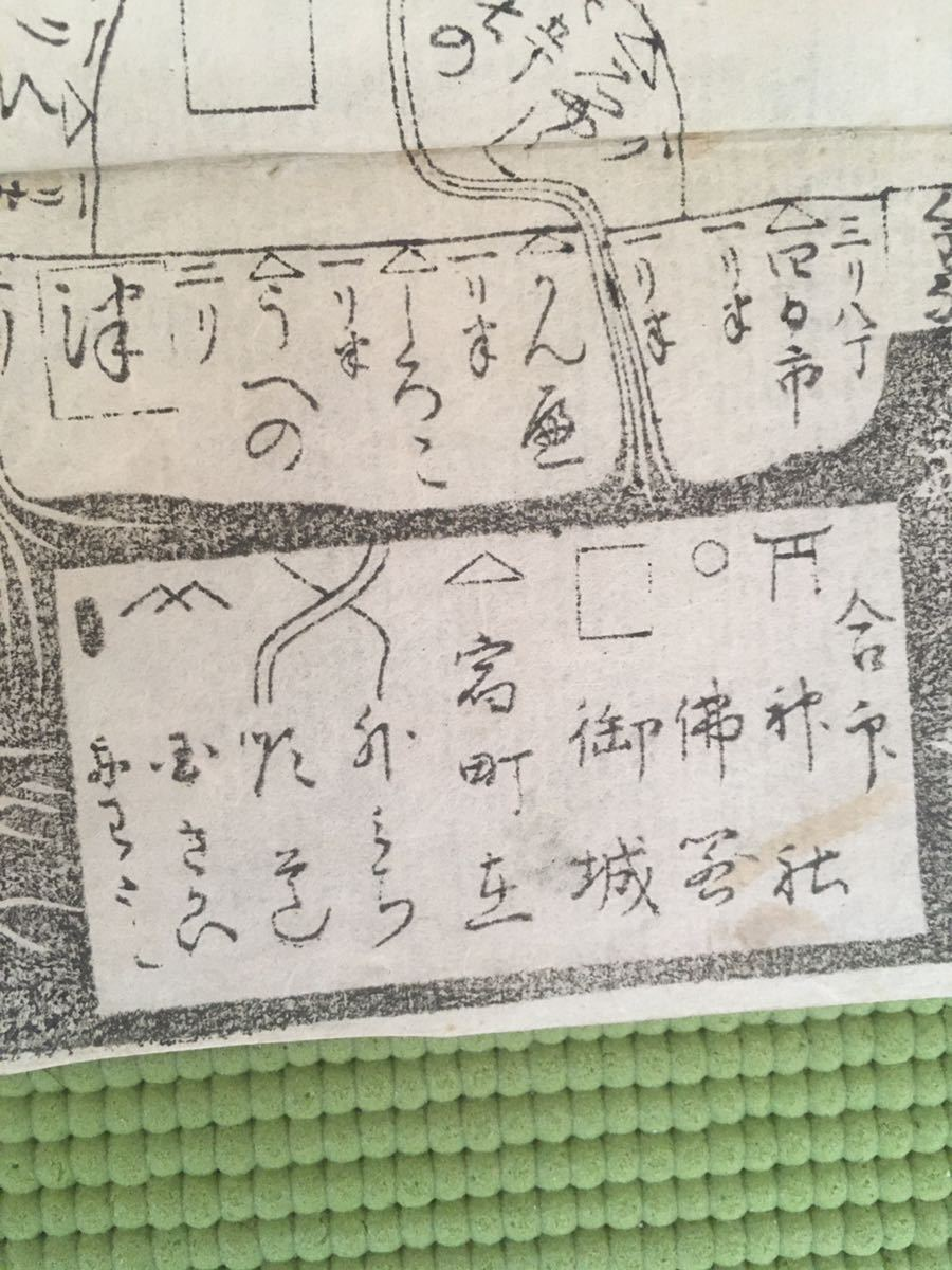 西国巡礼道中絵図(江戸時代)_画像7
