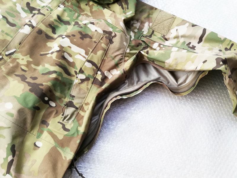 実物 米軍放出品 Wild Things Tactical Hard Shell Jacket SO1.0 ジャケット Ssize multicam    (seals marsoc ecwcs gore-tex 9f24_画像7
