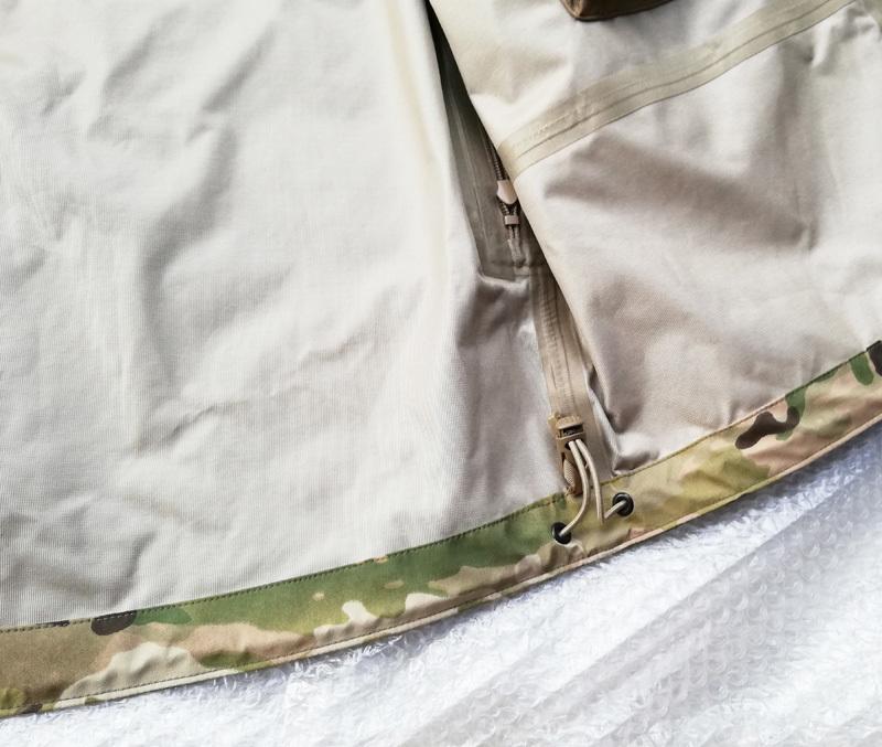 実物 米軍放出品 Wild Things Tactical Hard Shell Jacket SO1.0 ジャケット Ssize multicam    (seals marsoc ecwcs gore-tex 9f24_画像4