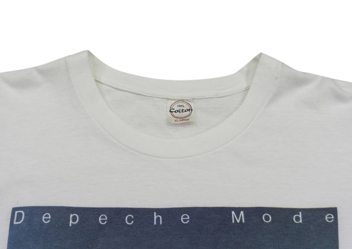 激レア! 90's DEPECHE MODE Tシャツ NEW ORDER CURE DURAN DURAN PET SHOP BOYS KRAFTWERK SMITHS JOY DIVISION THE HUMAN LEAGUE R.E.M_画像3