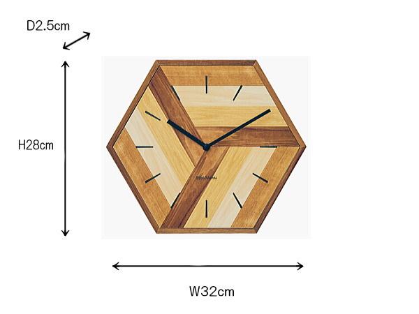ウォールクロック 掛け時計 レトロ 静か スイーブムーブメント おしゃれ 壁掛け 6角形 リビング 寝室_画像4