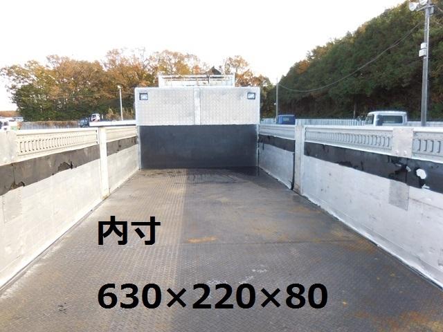 「 ★アルミブロック平ボディ/三菱/H19年★」の画像3